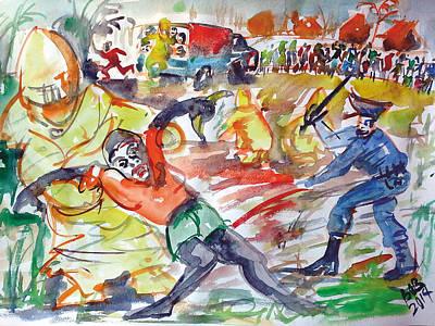 Ebooo Let My People Go Art Print by Bob Usoroh