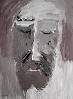 Painting - Ecce Homo 2014 by Karl Leonhardtsberger