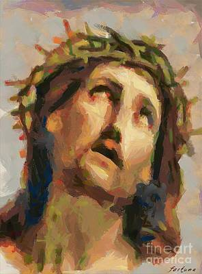 Pontius Pilate Painting - Ecce Homo by Dragica  Micki Fortuna