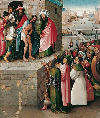 Ecce Homo Print by Hieronymus Bosch