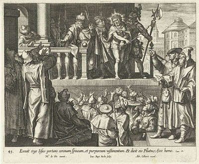 Ecce Homo, Jan-baptist Barb, Adriaen Collaert Art Print