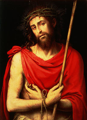 Tied-up Painting - Ecce Homo  by Vicente Juan Macip