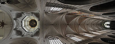 Photograph - Ecclesiastical Ceiling No. 3 by Joe Bonita