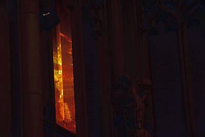 Photograph - Ecclesiastical Glow by John Schneider