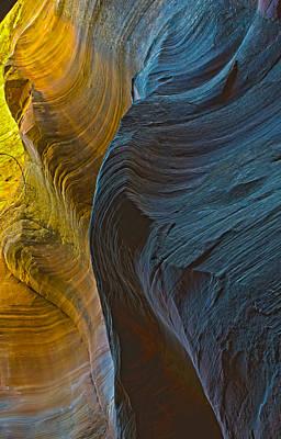 Echo Canyon Glow Art Print