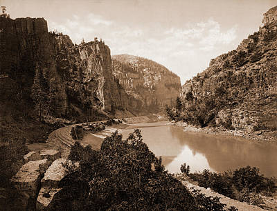 Canyon Drawing - Echo Cliffs, Grand River Canyon, Colo, Jackson, William by Litz Collection