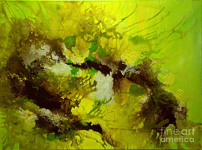 Painting - Echo Green by Preethi Mathialagan