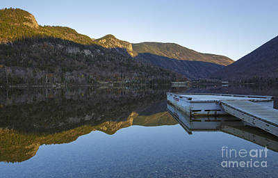 Echo Lake - Franconia Notch State Park New Hampshire Usa Art Print