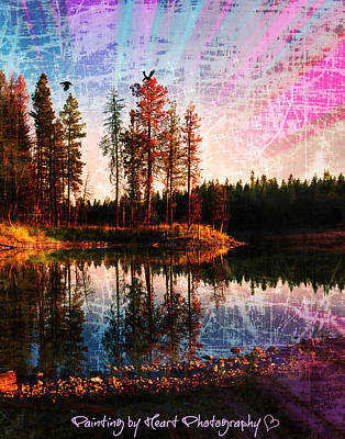 Echo Lake Art Print