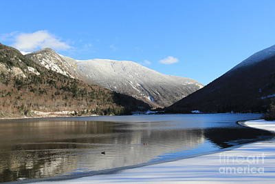 Photograph - Echo Lake Franconia Notch by Jeffery Akerson