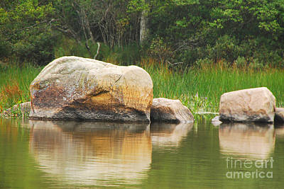 Photograph - Echo Lake Reflection by Mary Carol Story