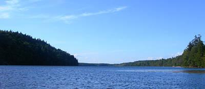 Jeff Johnson Photograph - Echo Lake Waterline by Jeff Johnson