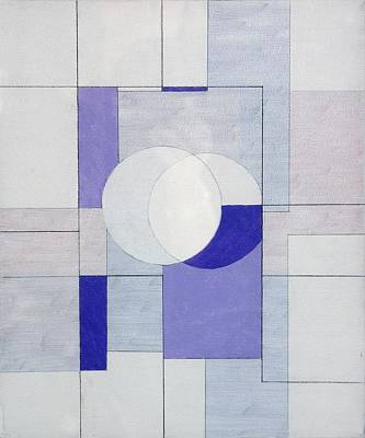 Rectangles Painting - Echo Of Silence by George Dannatt