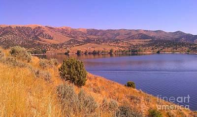Art Print featuring the photograph Echo Reservoir Utah by Chris Tarpening