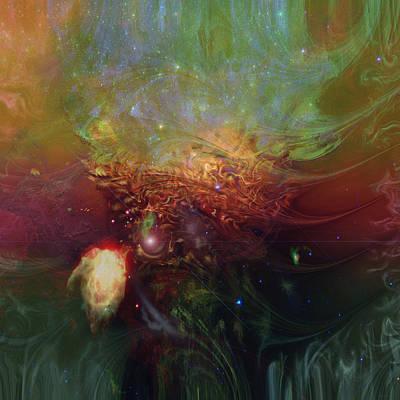 Digital Expressions Digital Art - Echoes by Linda Sannuti
