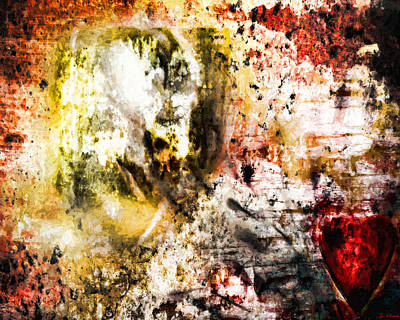 Digital Art - Echoes Of Love Lost by Joe Misrasi