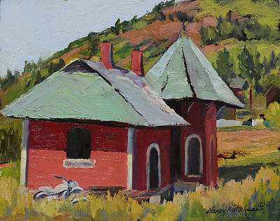 Cripple Painting - Echoes Of The Past by Nancy Nuttelman