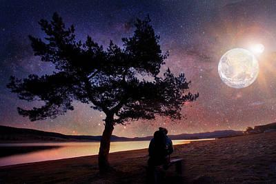 Digital Art - Eclipse by Svetoslav Sokolov