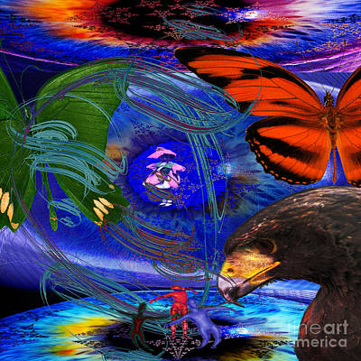 Wind Digital Art - Eco Do They Not Know by Joseph Mosley