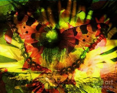 Eco-eye Art Print by Elizabeth McTaggart