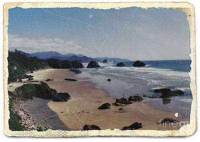 Mixed Media - Ecola 1 by Chalet Roome-Rigdon