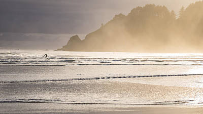 Photograph - Ecola Surf by Scott Rackers