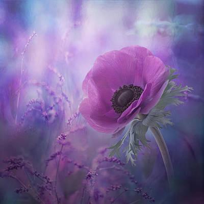Purple Flowers Photograph - Ecstasy by Natalia Simongulashvili