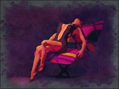 Digital Art - Ecstasy... by Tim Fillingim