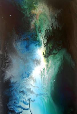 Ectoplasm Painting - Ectoplasm by Dion Kurczek