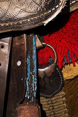 Ecuador Saddle Art Print by Chad Simcox