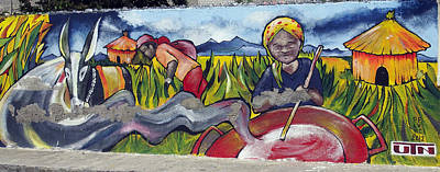 Photograph - Ecuador Street Art Salinas 1 by Kurt Van Wagner