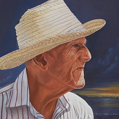 Campesinos Painting - Ecuatorian Peasant by Alfonso Endara