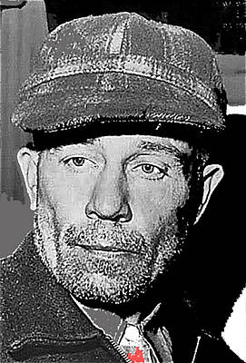 Ed Gein The Ghoul Who Inspired Psycho Plainfield Wisconsin C.1957-2013 Art Print