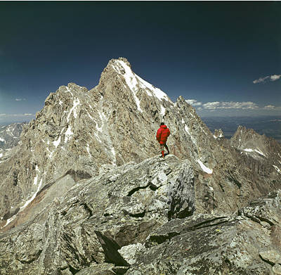 Photograph - 409222-a-ed On Top Of Middle Teton by Ed  Cooper Photography