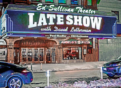 Photograph - Ed Sullivan Theater by Jerry Gammon