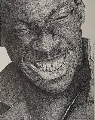 Eddie Art Print by Denis Gloudeman
