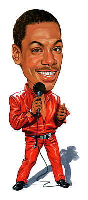 Murphy Painting - Eddie Murphy by Art