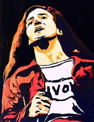 Eddie Vedder Painting - Eddie by Rogerio Zgiet