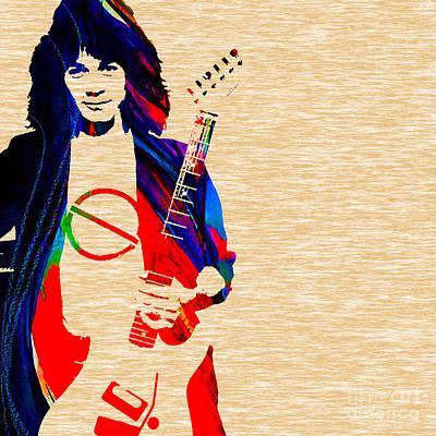 Guitar Mixed Media - Eddie Van Halen Collection by Marvin Blaine