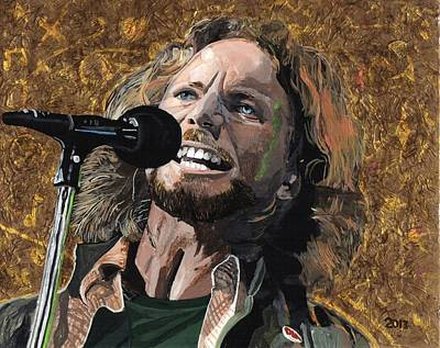 Eddie Vedder Original by David Moriarty