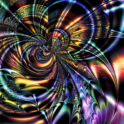 Digital Art - Eddies by Kiki Art