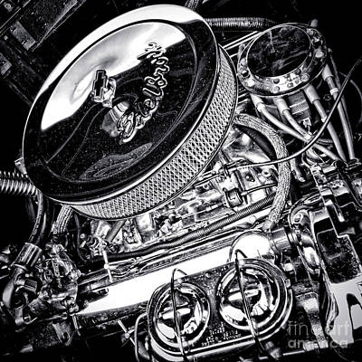 Big Block Chevy Photograph - Edelbrock by Olivier Le Queinec