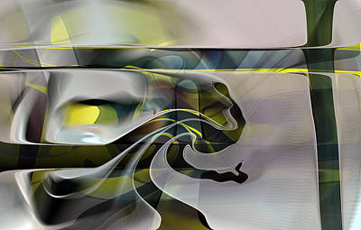 Digital Art - Eden 2 - The Serpent by rd Erickson