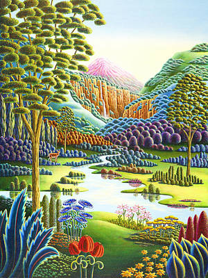 Unreal Painting - Eden by Andy Russell