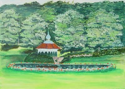 Painting - Eden Park  Cincinnati Ohio by Diane Pape