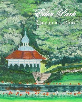 Painting - Eden Park Gazebo  Cincinnati Ohio by Diane Pape