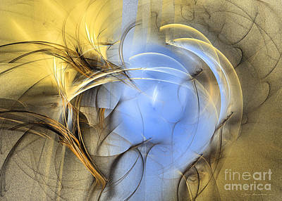 Digital Art - Eden - Abstract Art by Sipo Liimatainen
