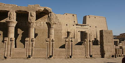 Photograph - Edfu Temple by Christian Zesewitz