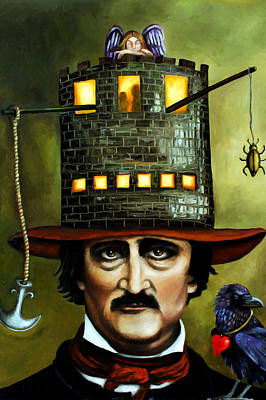 Narrative Painting - Edgar Allan Poe Edit 1 by Leah Saulnier The Painting Maniac
