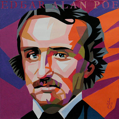 Painting - Edgar Allan Poe by Jana Fox